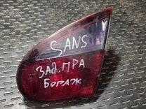 ZAZ Sens фонарь правый внутренний — Запчасти и аксессуары в Великом Новгороде